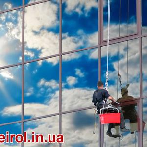 Висотна мийка і миття вікон,  вітрин та фасадів Калуш,  Івано-Франківськ