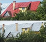 Фарбування дахів,  церков,  дерев'яних фасадів